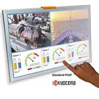 KYOCERA Introduces TFT-LCDs with Projected Capacitive Touchscreens for Industrial Display Applications