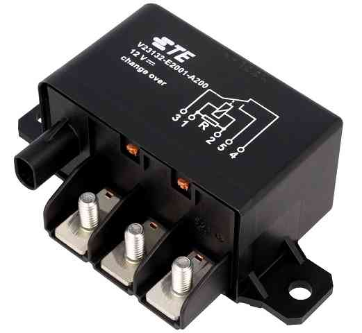 High Current HCR150 series Relays from TE Connectivity
