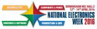 National Electronics Week, 12th-14th April 2016, Birmingham,UK