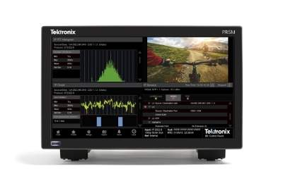 Tektronix Drives the Transition to Live IP Media Productions with Software-Defined Analysis Platform