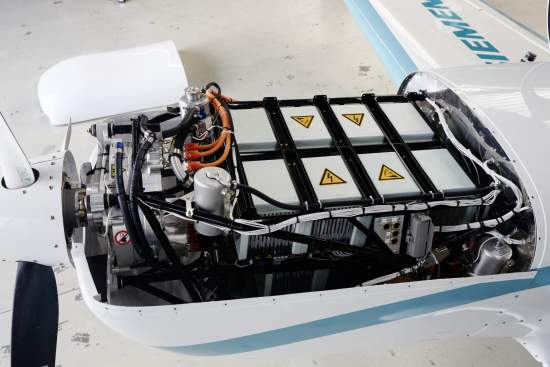 World-record electric motor makes first flight