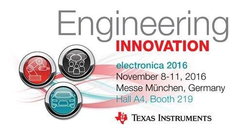 Texas Instruments is engineering industrial and automotive innovation