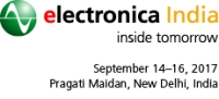 electronicaIndia, September 14-16, 2017, New Delhi