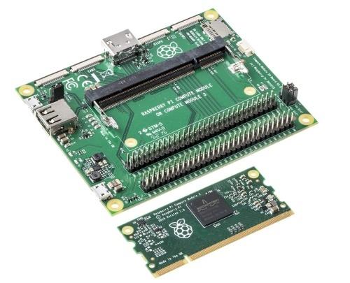 RaspberryPi3ComputeModule,jużdostępnywofercieRSComponentsiAlliedElectronics,zapewnia
