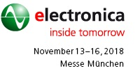 electronica 2018, Munich, DE, 13.-16.11.2018