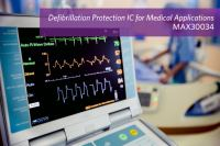 Maxim's Defibrillation and ESD Protection Device Safeguards Medical Applications with 100x Less Leakage Current