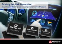 New family of maXTouch® touchscreen controllers designed for large-screen automotive HMI designs