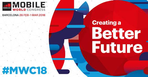 Mobile World Congress 2018, Barcelona, 26.2.-1.3.2018