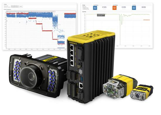 Cognex Explorer Real Time Monitoring Optimizes Productivity  for Factory Automation