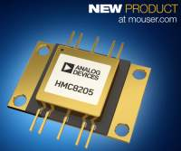 Mouser Electronics Now Stocking Analog Devices' HMC8205 GaN Power Amp for Wideband Designs