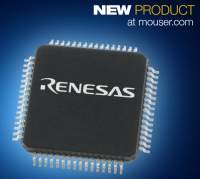 Renesas Electronics' Latest Versatile, Low-Power RX130 32-bit Microcontrollers Now Shipping from Mouser