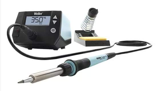 WE1010NA Soldering Station - Apex Tool Group's digital 70 W soldering station and iron with toolless tip change solution
