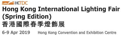 Hong Kong International Lighting Fair, 6.-9.4.2019