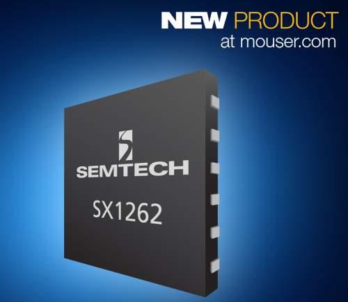 Semtech's Low-Power SX1261/SX1262 LoRa Transceivers