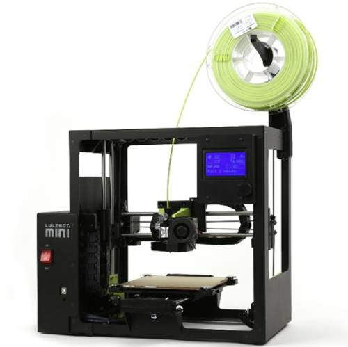 Mini 2 Desktop 3D Printer - Compact, portable, and scalable, the Mini 2 features numerous upgrades over the original LulzBot Mini