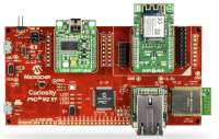 Microchip's PIC32MZ EF Curiosity IoT development kit utilizes Amazon Cloud services and FreeRTOS