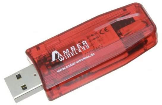 AmberWireless'wirelessUSBstickiscompatiblewithwirelessmoduleAMB2520