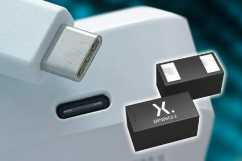 Nexperia's new ESD protection series for USB Type-C deliver industry's highest surge robustness and lowest trigger voltage