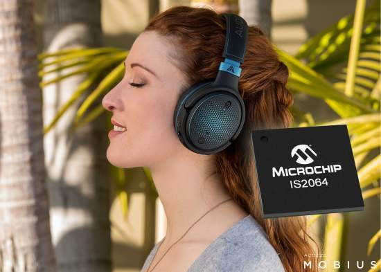 Create High-Resolution Audio Devices Using Microchip's New Bluetooth® Audio SoC with Sony's LDAC™ Technology