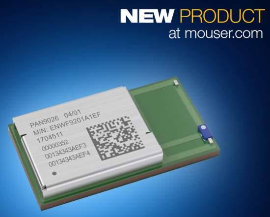 Now at Mouser: Panasonic's PAN9026 Dual-Mode Wi-Fi and