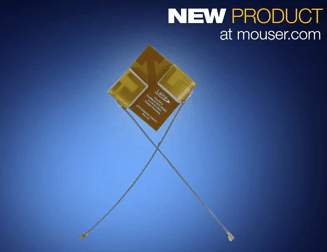 Now Shipping from Mouser: Laird's FlexMIMO Antenna Offers Industry's First Flexible PIFA Antenna for Wi-Fi MIMO Applications