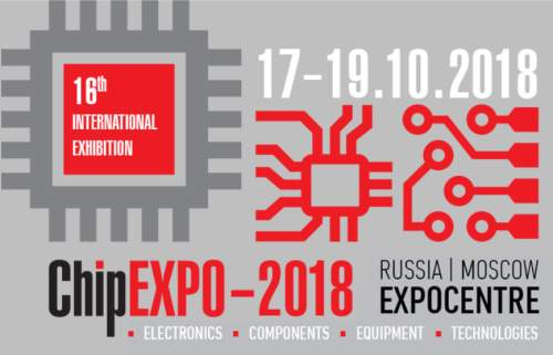 ChipExpo-2018, 17.-19.10.2018, Moscow, Russia