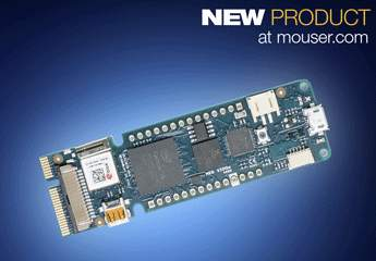 Now at Mouser: Arduino MKR VIDOR 4000 Packs Intel Cyclone FPGA and Microchip SAM D21 MCU in Small Form Factor Board