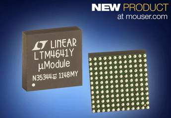 Mouser Electronics Stocks Analog Devices' LTM46xx µModule POL Regulators for Variety of Power Supply Needs