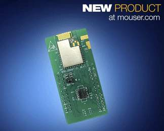 Cypress Semiconductor's EZ-BLE and EZ-BT WICED Bluetooth Modules, Now Available from Mouser, Enable Easy Design of IoT Applications