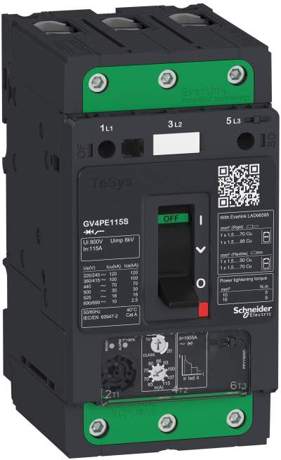 RS Components introduces new motor circuit protection range from Schneider Electric