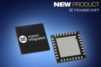 Maxim MAX22190 Octal Digital Input Device, Now at Mouser, Offers Robust High Performance for Industry 4.0 PLC Systems