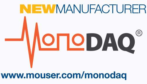 Mouser Electronics Signs Global Distribution Deal with MonoDAQ