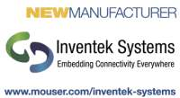 Mouser Electronics and Inventek Systems Announce Global Distribution Agreement