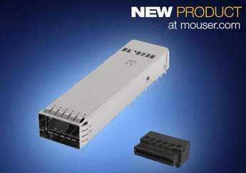 Now at Mouser: TE Connectivity's OSFP I/O Connectors Support 400GbE Data Center Applications