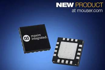 Mouser Electronics Now Stocking Maxim MAX5995B PMIC for 802.3af/at/bt Power over Ethernet