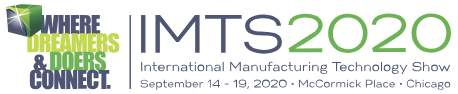 IMTS2020, 14.9.-19.9.2020, Chicago, IL