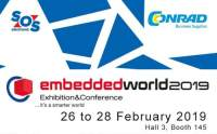 Stoisko SOS Electronic na targach Embedded World 2019