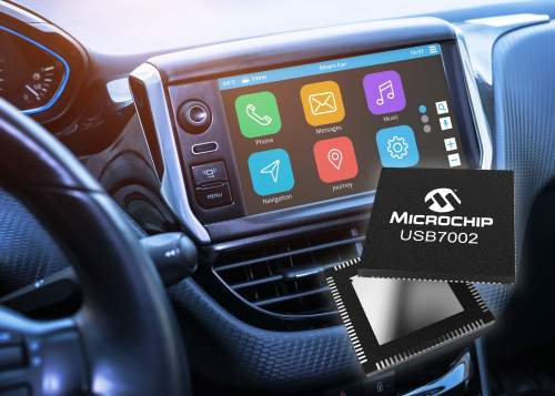 Industry's First Automotive USB 3.1 SmartHub with Type-C™ Support