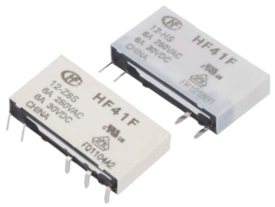 HF41F subminiature power relays from HONGFA