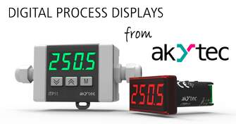 Process Displays from akYtec