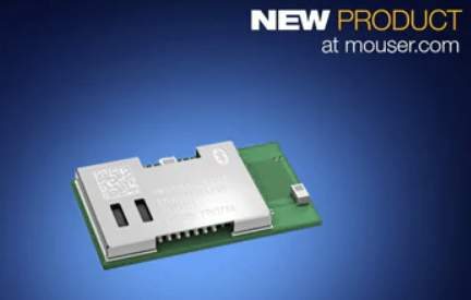 Now at Mouser Electronics: Panasonic's Ultra-Low-Power PAN1762 Bluetooth Low Energy 5 Module