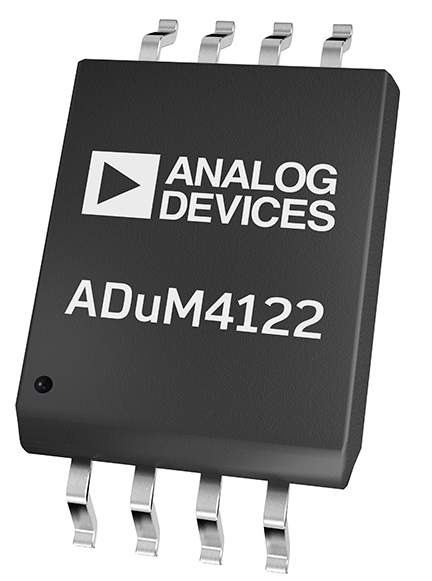 ADuM4122 Adjustable Slew Rate, Single Isolated Gate Driver