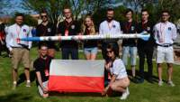 A team of students from Wrocław University of Science and Technology at Spaceport America Cup 2019
